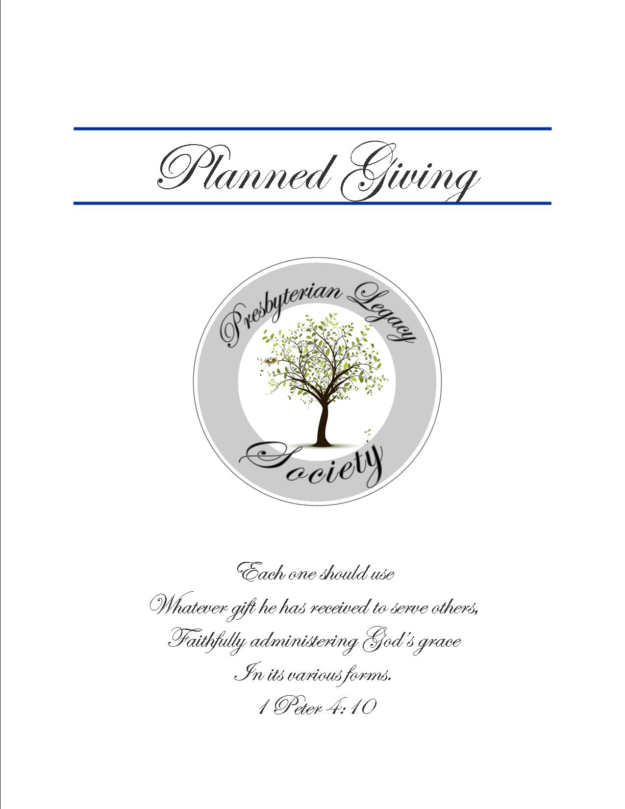 Planned Giving Folder Insert Where To Learn More - Planned giving brochures templates